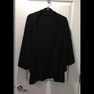 LOOK Black Knit Cape/Vest